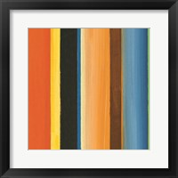 Hampton Stripe II Framed Print