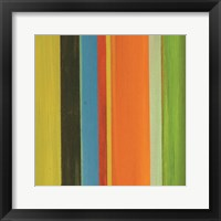 Framed Hampton Stripe III