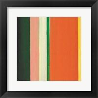 Framed Hampton Stripe IV