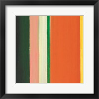 Hampton Stripe IV Framed Print