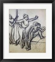 Framed Three Dancers