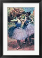 Framed Dancers in Violet
