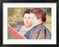 Framed Women Reading
