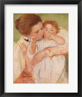 Mother and Child, 1897 Framed Print