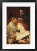 Framed Musical Party, 1874