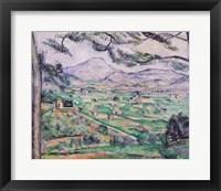 Framed Montagne Sainte-Victoire B
