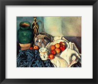 Framed Still Life with Apples