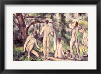 Framed Study of Bathers
