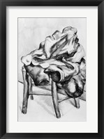 Framed Drapery on a Chair