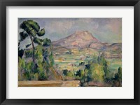 Framed Montagne Sainte-Victoire C
