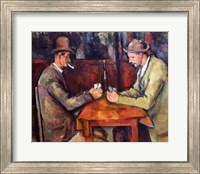 Framed Card Players, 1893-96