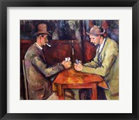 Framed Card Players, 1893-96