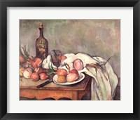 Framed Still Life with Onions, c.1895