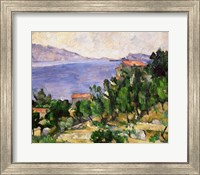 Framed View of Mount Marseilleveyre and the Isle of Maire