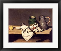 Framed Still Life with a Kettle, c.1869