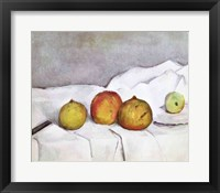 Framed Fruit on a Cloth, c.1890