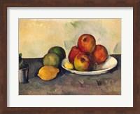 Framed Still life with Apples, c.1890
