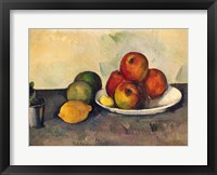 Framed Still life with Apples, c.1890