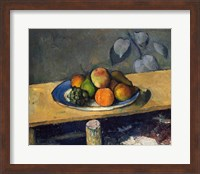 Framed Apples, Pears and Grapes, c.1879