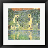 Framed Schloss Kammer on the Attersee III, 1910