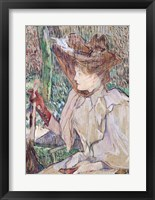 Framed Woman with Gloves, 1891
