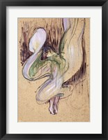 Framed Study for Loie Fuller