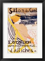 Framed Poster advertising the 'Exposition Internationale d'Affiches', Paris, c.1896