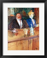 Framed In the Bar: The Fat Proprietor and the Anaemic Cashier, 1898