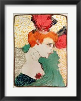 Framed Mademoiselle Marcelle Lender, 1895