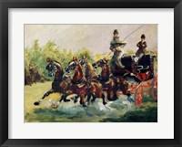 Framed Alphonse de Toulouse-Lautrec-Monfa