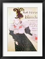 Framed Poster advertising 'La Revue Blanche', 1895