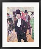 Framed Monsieur Fourcade, 1889