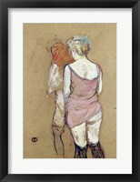 Framed Two Semi-Nude Women at the Maison de la Rue des Moulins, 1894