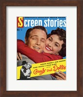 Framed Guys and Dolls Screen Stories