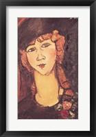 Framed Lolotte, 1917