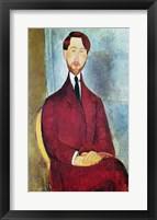 Framed Leopold Zborowski, 1917