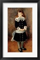Framed Marthe Berard, 1879