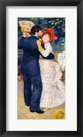 A Dance in the Country, 1883 Framed Print