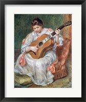 Framed Guitar Player, 1897