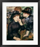 Framed Girls in Black, 1881-82