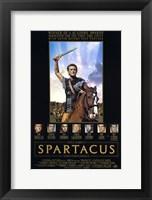 Framed Spartacus Kirk Douglas