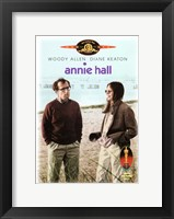 Framed Annie Hall Beach Scene