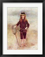 Framed Little Fisherwoman
