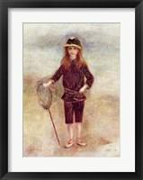 Framed Little Fisherwoman