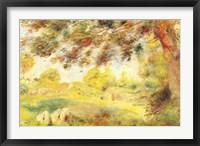 Framed Spring Landscape