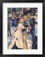 Framed Ball at the Moulin de la Galette, 1876 - close up