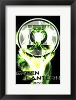 Framed Green Lantern - 2011