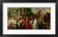 Framed Roman Triumph, c.1630