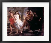 Framed Orpheus and Eurydice