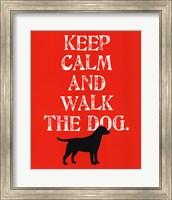 Framed Keep Calm (Labrador)